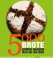 Bild 0 für Konfis backen Brot für die Welt