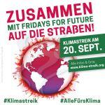Bild 0 für Mitmachen beim Klimastreik am 20.09.